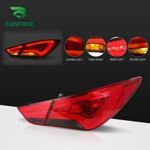 Tail Light Car Assembly per Hyundai Sonata 2011 2014 freno con il giro guidato del segnale