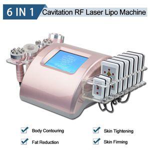 Последние кавитация для похудения машина ультразвуковой Потеря жира Радиочастотная РФ подтяжки кожи Лазерная Lipo машины для похудения CE Approved
