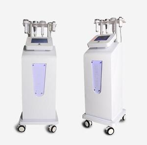 Свободная перевозка груза 6 в 1 80K Ультразвуковая кавитация 5D Carving Instrument Rf Вакуумная машина для похудения