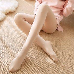 Kalınlaşmış külotlu çorap kadife sıkı kalınlaşmış pantolon dar pantolon kadın ten renkli tozluk sonbahar ve kış tarzı tozluk ten rengi all