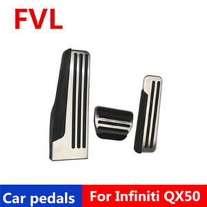 Car pedals For Infiniti G25 G35 G37 Q50 Q60 EX25 QX50 QX70 EX FX M25 Q60S Accelerator Pedal Brake Pedal Footrest Pedal