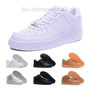 force 1 one dunk 2020 AF1 pele de cortiça enterrar New Classical 1 White Preto Low High Cut Homens Mulheres Sneakers Shoes Skate Uma corrente tamanho da sapata 36-46 BN