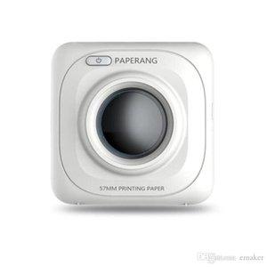 2019 PAPERANG P1 Termal Yazıcı Taşınabilir Bluetooth 4.0 Makbuz Yazıcı Fotoğraf Yazıcısı Telefon Kablosuz Mini 1000 mAh Lityum-iyon yazıcıları