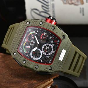 2020 New Montre sport RM Mode Hommes Marque Montres Hommes Luxe Style Design Chronographe Royal Oak Montres-bracelets Cadeaux relojes
