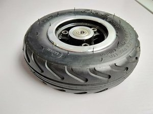 "6X2 인플레이션 타이어 휠을 사용하여 6 ""타이어 합금 허브 160mm 공압 타이어 전기 스쿠터 F0 압축 공기를 넣은 바퀴 트롤리 카트 에어"