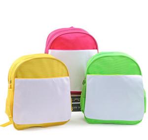 Nuovo modo di arrivo di sublimazione spazio in bianco DIY dei bambini dei bambini di scuola materna del sacchetto di libro Hot Printing Transfer