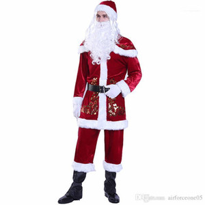 Cosplay Couple Matching Clothes Merry Christmas Designer Cosplay Clothes Mens Womens Fashion Santa Claus Theme Costume