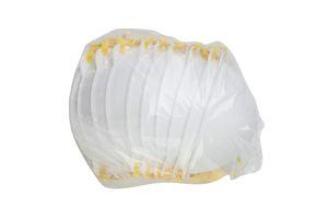 Masques de protection respiratoire non Valve demi-couverture Masques Head-Mounted Set coton + filtre fondre Vaporiser Tissu