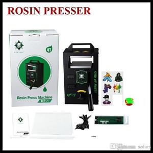pressione autentica Rosin macchina della pressa KP1 KP2 LTQ vapore 4tons sul morsetto temperatura di riscaldamento regolabile Tool Kit Portable Cera Estrazione