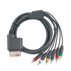 1 .8m 6ft Component HD TV video e stereo RCA Cavo AV per Xbox 360 Cavo audio video
