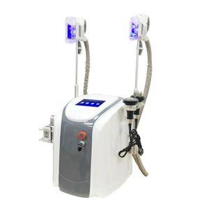 2020 Cryolipolysis Cavitação + RF + Facial RF + 40K + Lipo laser máquina de congelamento de gordura gordura redutor de beleza à venda