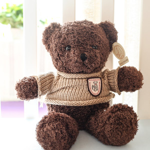 Manufacturers Hot selling sweater teddy bear doll plush toy bear hug bear doll girl birthday gift factory batch