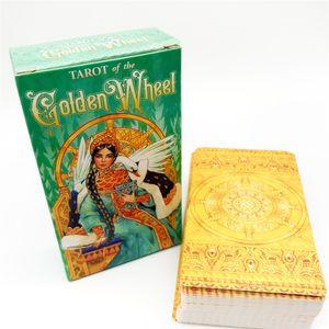 Tarocchi della Golden Wheel 78 Carte Deck Russian Edition Ispirato Fairy Tales Mila Losenko Aeclectic Crisp Divinazione Gioco