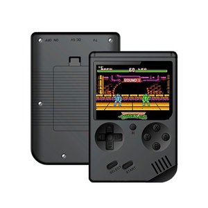 ALLOYSEED RS-6A Retro Video Game Console 8 Bit Mini Portable Pocket Handheld Game Player Built-in 168 Games For Kids Child Gifts