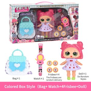 Play House Sorte Mini boneca Pretend Play e Dress-up Modelo Toy para a menina da boneca Kid Toy