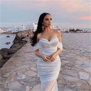 White Sequins Chiffon Cape Prom Special Occasion Gowns Arabic Long Sleeve Dress