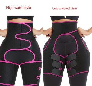 eQhfl cinto Shapewear shapewear Três-em-um da cintura e trimmer coxa treinador hip hip-lifting roupas cinto body-shaping
