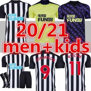 20 21 نيوكاسل RITCHIE كرة القدم البلوزات منزل بعيدا ثلث JOELINTO المتحدة 2020 2021 منزل LASCELLES SHELVEY FOOTBALL YEDLIN عدة قمصان الرجال الاطفال