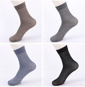 clXjR 2020 Primavera meias de algodão de lazer negócio dos homens mercerizado Mercerized algodão meias metade da panturrilha esportes novo