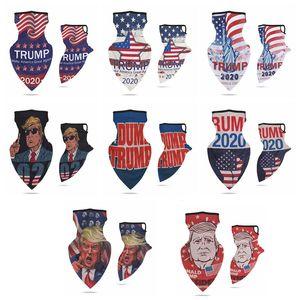 Extérieur Trump Neck Face Mask 2020 Amérique Président Election Cyclisme Bandana Crème solaire Respirant anti-poussière magique Collier VT1472 Foulard