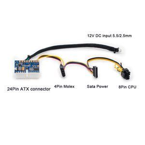 200W Güç Kaynaklı Freeshipping Alüminyum Mini ITX Bilgisayar Kasası PC Kasa Şasi HTPC USB 3.0