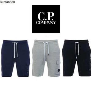 Nouvelle arrivée Société Hommes Shorts Hommes Pantalons Hommes Sweat Pantalons Sport C P Porter des pantalons Courtes Bas B103436L