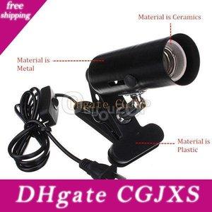 Branchez-nous EU Plug Au plug Heat Abat Abat Lampe Reptile Ombre Clamp Ombre (Reptile animal à sang froid) H301017 20pcs