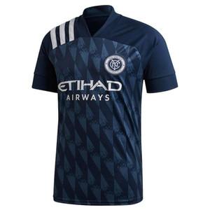 2020 New York City Soccer Jersey 20/21 # 9 HEBER CASTELLANOS Callens Mens uniformi # 10 Moralez ANELLO MEDINA Matarrita Calcio Maglie
