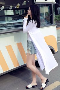 Panelled Sun Protective Clothing Designer Solid Womens Summer Rash Guards Fashion Donna Coats Chiffon With Modal