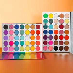 35 радуга цвета палитры теней прессованная Блеск Shimmer Матовый макияж Long-Lasting Пигментных глаз палитра Maquillage