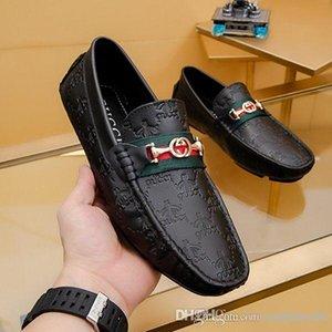 La moda de lujo diseño hombres de la alta calidad de la manera de conducir los zapatos perezosos zapatos con los hombres zapatos de vestir con size38-44 zapato centavo