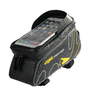2020 newest cycling phone bags, bike front package, touch phone bag, bicycle top tube saddle beam bag, cycling equipment packet