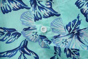 Wholesale 2015 New Arrival Cotton 100% Floral Shirt Hawaiian Shirt Aloha Shirt For Boy T1509 a7YP#