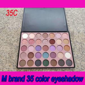 .Newest M marca Eyeshadow Palette 35 Cor dos olhos brilho sombra fosca maquiagem sombra Cor Estúdio paleta marca de cosméticos frete grátis