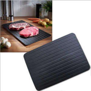 Fast Defrosting Tray for Natural Thawing Frozen Meat Rapid Thawing Plate & Board for Frozen Meat Food Defrosting Mat Thaw Meat Quickly