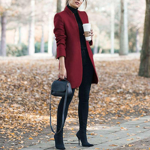 Autunm Weibliche Jacke Mode Design Lange Spikes Mäntel Jacken Womens Fleece Mantel Für Frau Mit Kapuze Winter Kleidung Pullover Stilsors Oberbekleidung