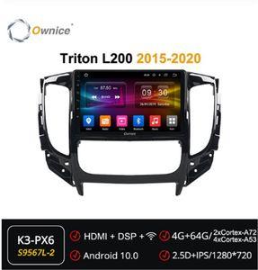 Ownice Octa 8Core Android 10.0 Car Radio Dvd Player ForMitsubishi Triton L200 2020 2020 Car Radio GPS Navi 8Core