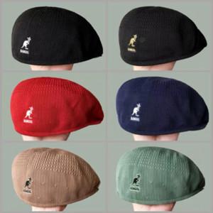 6b8PH Kanguru Kadın İngiliz İnternet ünlü şapka erkekler bahar ve yaz bere Kore tarzı her maç Kangol bere