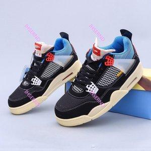 Air Jordan V4 Ortaokul Retro Serbest zaman etkinlikleri Kültür Basketbol Ayakkabıları