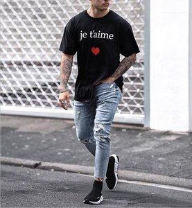 Hosen-dünne gewaschene Sommer-beiläufige mittlere Taillen-Jeans Herren Kleidung Herren Mode Loch Burrs Zipper Bleistift