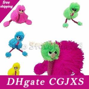 5 цветов 36см Decompression игрушки марионеток куклы Muppets животных Маппет Ручные куклы игрушки плюша Страус благосклонности партии Cca10761 100шт