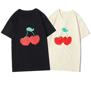 Mens estilista camiseta de los hombres de las mujeres de alta calidad del algodón del verano de manga corta T Parejas informal camisa de polo 3 colores