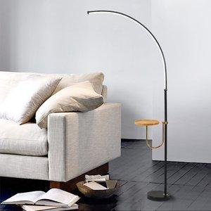 Nordic Минималистский LED Торшеры Креативный Стенд Лампы для гостиной Led Black Metal Luminaria торшер Lampara Светильники