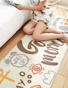 New 40cmx120cm Washable Rectangle Lamb Cashmere Carpets Bwdroom Parlor Mats Home Hotel Textile