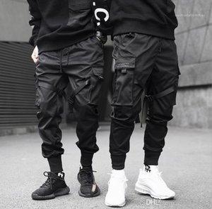 Tactical Ferramental Pants Moda Natural Lápis Cor Calça Casual Calças Jogger longas Mens Vestuário Mens funcionais e