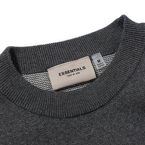 Casual Hoody Hoodies Wool Pullovers Of Street Knitted Fear Sweater ESSENTIALS Winter Crew Neck Sweaters Woman Men's Sweashirts FOG God Ofrh