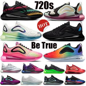 جديد الفستق فروست 720s الرجال الاحذية ثلاثية ردة سوداء المستقبل الأضواء الشمالية يلة النساء Chaussures أحذية رياضية وسادة الرياضية