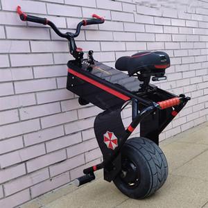 새로운 전기 외발 자전거 한 바퀴를 들어 청소년 셀프 밸런싱 스쿠터 800W 60V 10 ''지능형 전기 오토바이 스쿠터