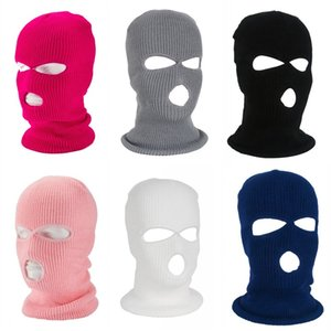 Drei Löcher Gesicht Abdeckung Volle Deckung Gewebe Nacken sammeln Schild Vizor Headcovers Cosplay Elastic Maske Kind Jungen 6 5yb C2