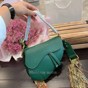 nouveau sac Messenger nouveau sac en cuir de qualité de sac à bandoulière lettre dames selle qualité supérieure cd avec boîte 2020 H4zz #